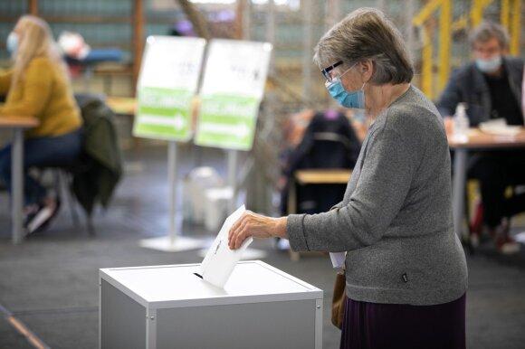 Primena, ką reikia turėti einant balsuoti: pieštuko neštis negalima