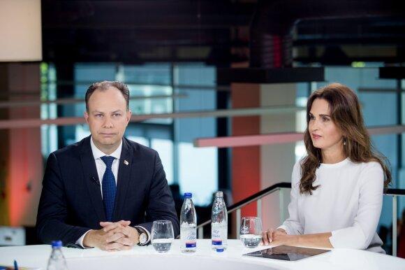 Aurelijus Veryga, dr. Jelena Kutkauskienė