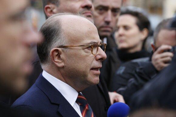 Prancūzijos vidaus reikalų ministras Bernardas Cazeneuve'as