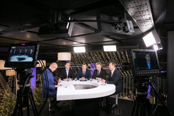 Edmundas Jakilaitis, Dainius Kreivys, Virginijus Sinkevičius, Remigijus Šimašius, Artūras Zuokas