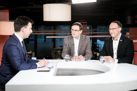 Arnas Mazėtis, Lauras Bielinis, Vladimiras Laučius