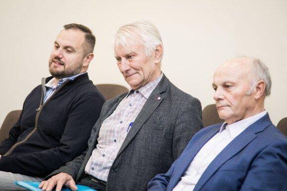 Kęstutis Balčiūnas, Valentinas Gražys, Vidmantas Pelėda