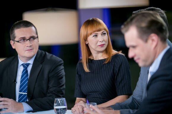 Skirmantas Malinauskas, Jurgita Petrauskienė ir Gabrielius Landsbergis