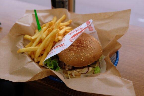 Mano burgeris su šonine