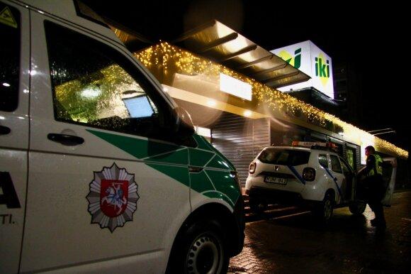 Nešventiška Kūčių naktis Vilniuje: smūgiavo kur norėjo – daužė praeivius, draugus ir giminaičius