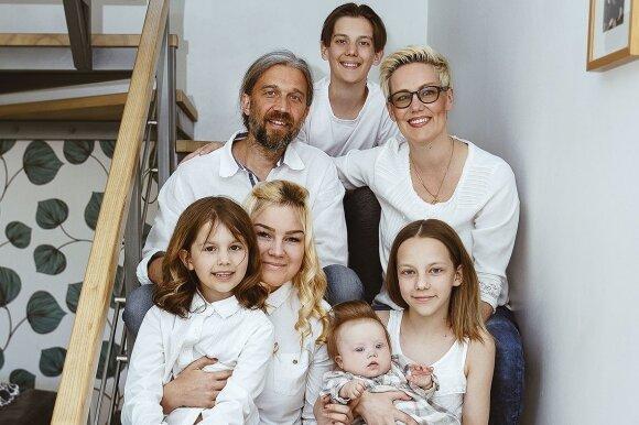 Pažintis su ypatinga šeima Klaipėdoje: meilė chromosomų neskaičiuoja