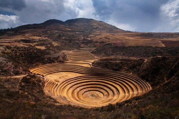 Neatskleistos Senovės Peru paslaptys