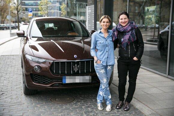 Agnė Jagelavičiūtė ir Gintarė Urnikienė