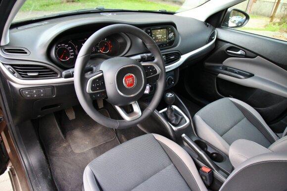 """""""Fiat Tipo"""" salonas mielesnis nei tikiesi"""