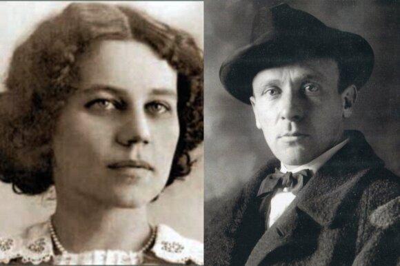 Tatjana Lappa ir Michailas Bulgakovas