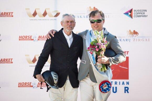 Z. Šarka ir A. Petrovas / Foto: HORSEMARKET