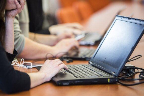 Darbas prie kompiuterio