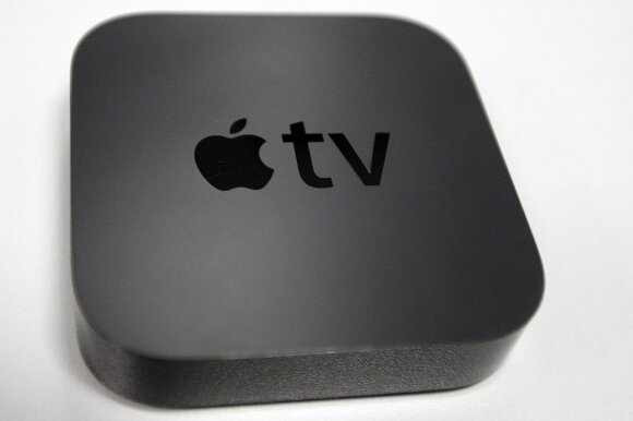 "Inovatyviojoje ""Apple TV"" bus rodoma DELFI TV"