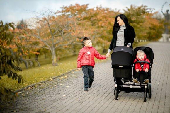 Trijų vaikų mama Airinė Maslobojeva – apie netradicinius vaikų vardus, mintis apie pagalbinį apvaisinimą ir viską nulėmusį Sergejaus klausimą