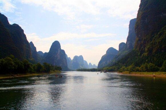 Guilino ir Lijango (Li) upės nacionalinis parkas (CC BY 2.0/Gill penney nuotr.)