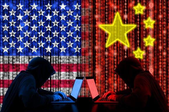 JAV - Kinijos kibernetinis karas
