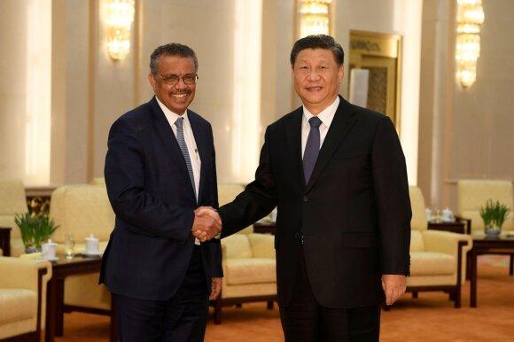 Tedrosas Adhanomas Ghebreyesusas, Xi Jinpingas