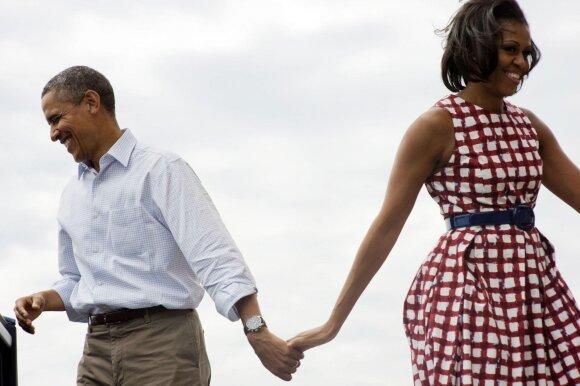 Michelle ir Barackas Obamos 2011-aisiais