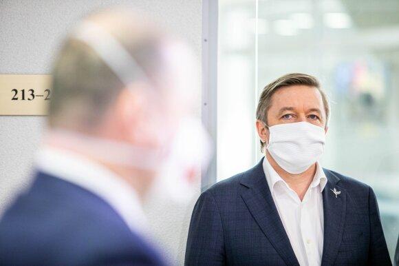 Karbauskis dėl Seimo rinkimų neabejoja, grėsmę lygina su ėjimu į parduotuvę