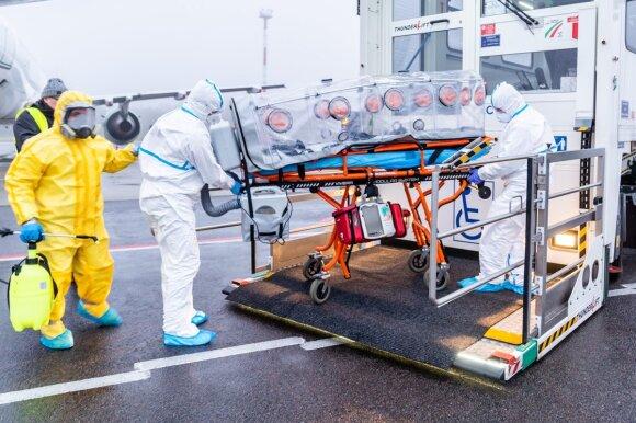 Вильнюсец о тесте на коронавирус: это было ужасно
