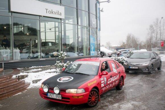 """Iš 1993 m. """"Toyota Corolla"""" keliautojai persės į naują modelį"""