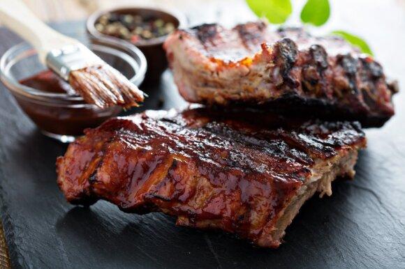 Mėsa, kepta ant grilio