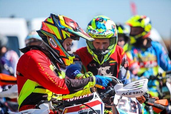 Pakruojyje vyks geriausių šalies motokrosininkų kovos