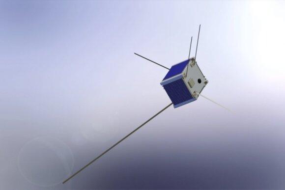 """Taip turėtų atrodyti """"Lituanica SAT-1"""" palydovas"""