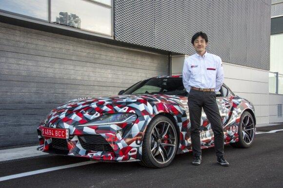 """Keisuke Futumoto, """"Toyota Supra"""" antrasis inžinierius"""