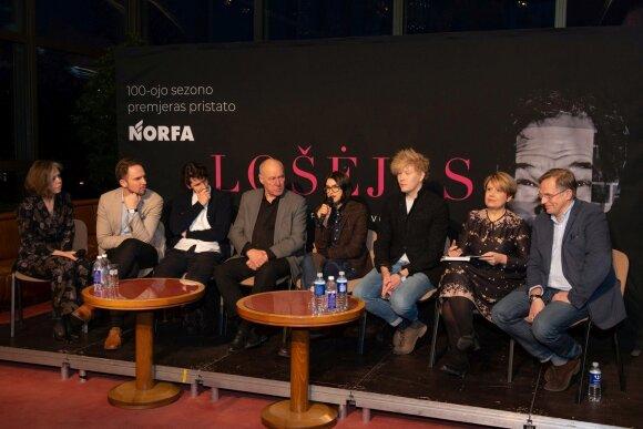 """Operos """"Lošėjas"""" spaudos konferencija"""