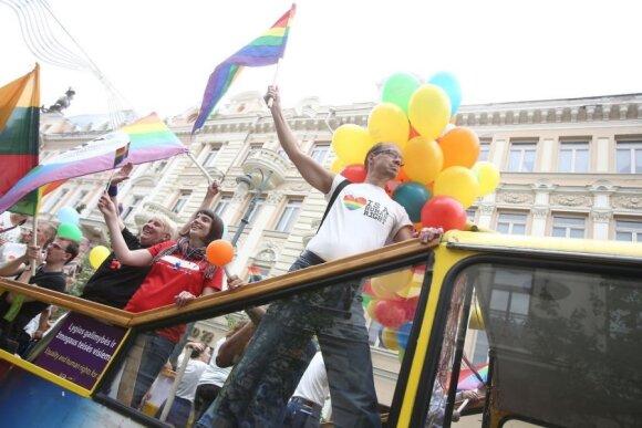 В Вильнюсе состоялось шествие секс-меньшинств