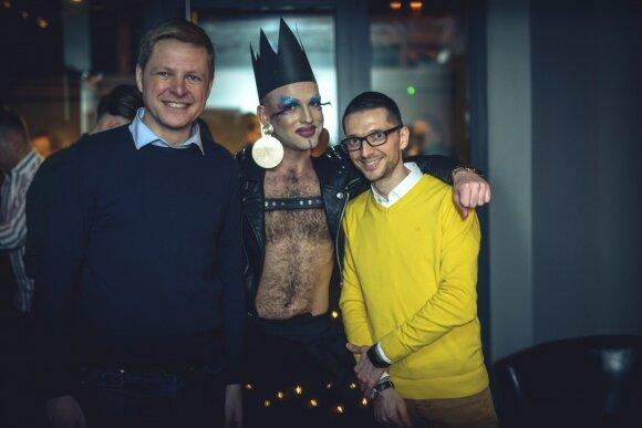 Избранный в Вильнюсский горсовет гомосексуал обещает перемены в столице