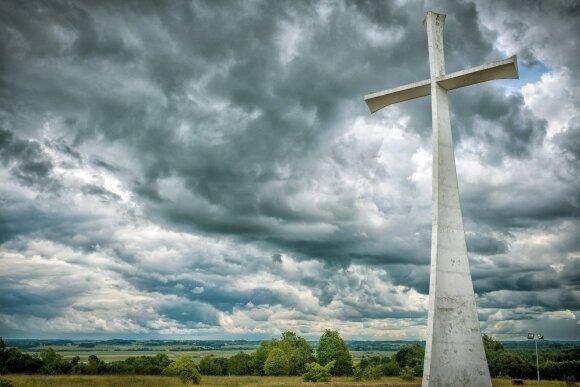 Prisikėlimo kryžius Kaltinėnuose