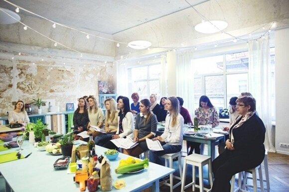 Sveiko maisto gaminimo kursai paskatino moteris susirinkti kilniam tikslui