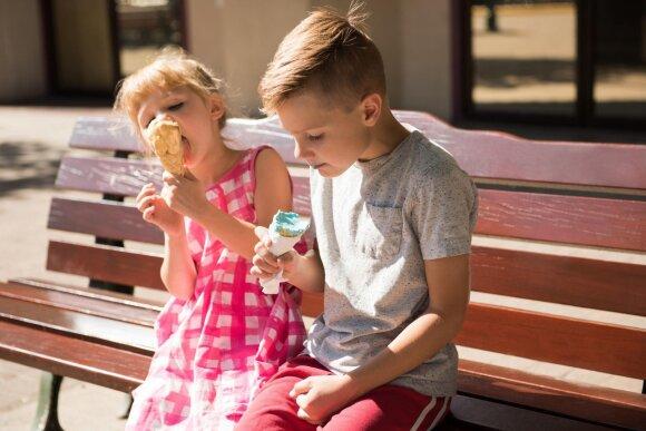 Ledų sezonas: kokių ir kiek per dieną sveika valgyti vaikui