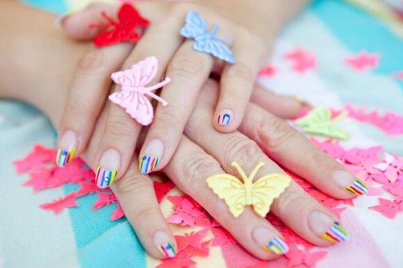 Manikiūras: naujausios pavasario ir vasaros tendencijos