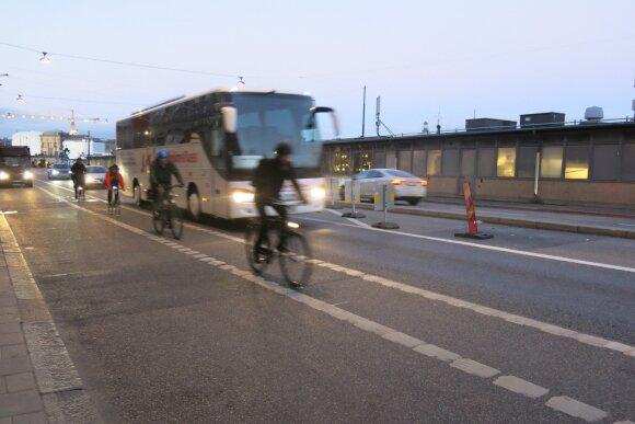 Dviračiai Stokholme