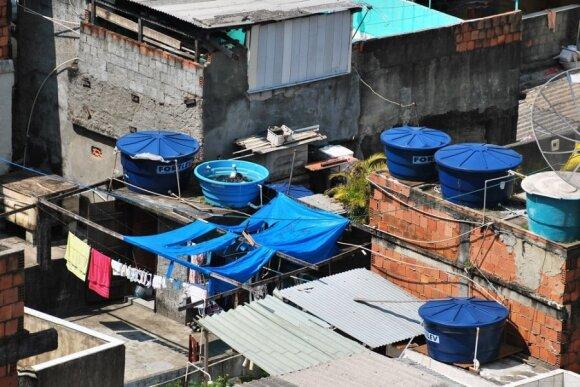 Gyvenimas iš arti didžiausioje Rio de Žaneiro faveloje