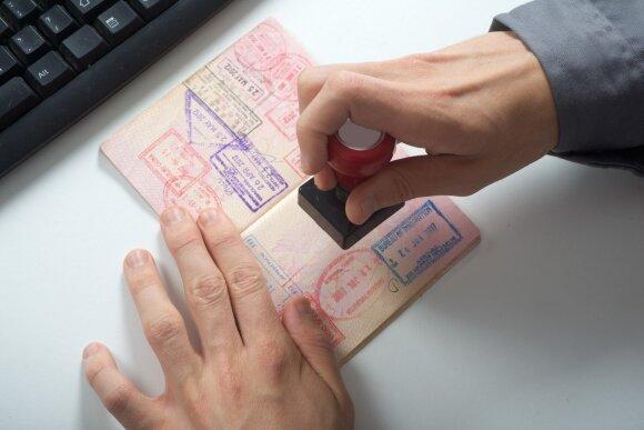 Patarė, ką daryti, kai baigiasi paso puslapiai