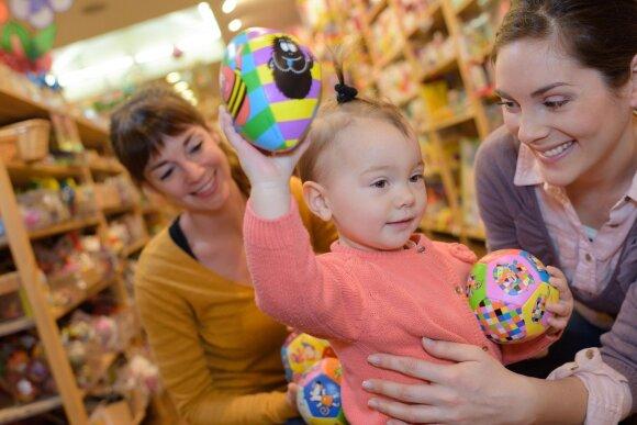 Tyrimas parodė netikėtus skaičius: kiek pinigų lietuviai išleidžia vaikų žaislams ir kaip dažnai juos perka?