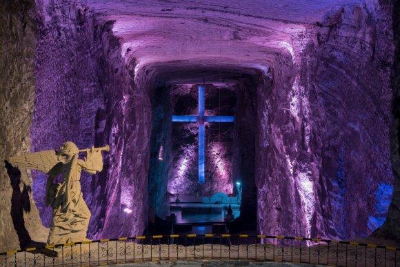 Sipakyros akmens druskos katedra