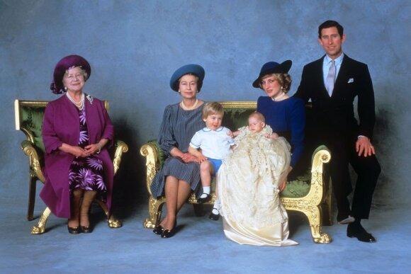 Princo Harry krikštynos FOTO: Kensingtono rūmai