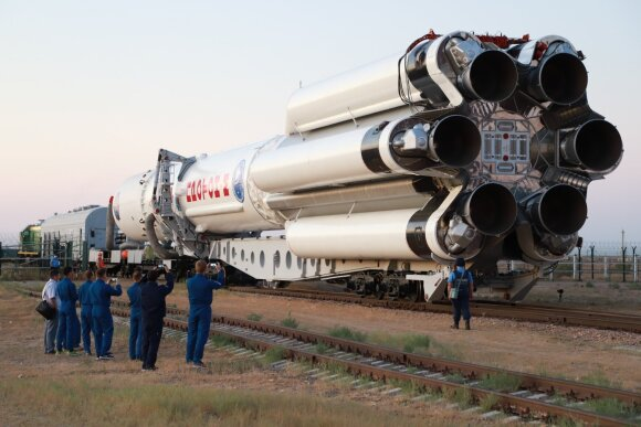 The launch vehicle took off from the Baikonur Cosmodrome in Kazakhstan.