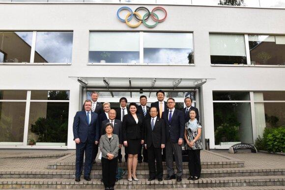 Lietuvoje apsilankė Japonijos delegacija