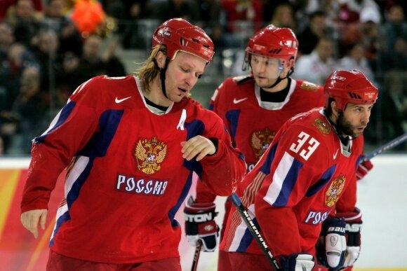 Darius Kasparaitis Rusijos rinktinėje