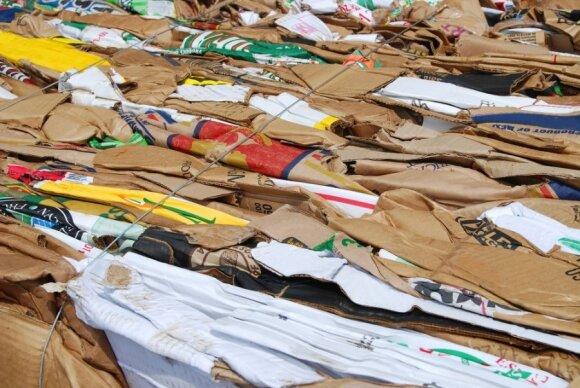 Kasmet D. Britanijoje po Kalėdų lieką tūkstančiai tonų šiukšlių