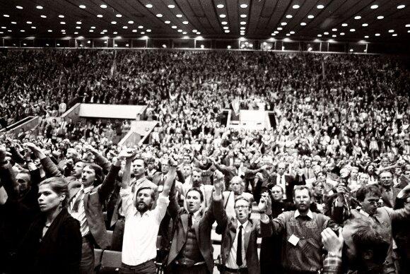 Steigiamasis Lietuvos Persitvarkymo Sąjūdžio suvažiavimas Vilniaus koncertų ir sporto rūmuose