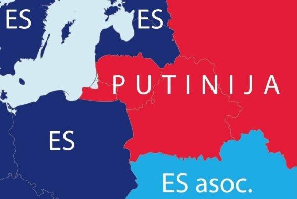 V. Landsbergis: ar Kremlius pasitenkins tuo, ką prarijo