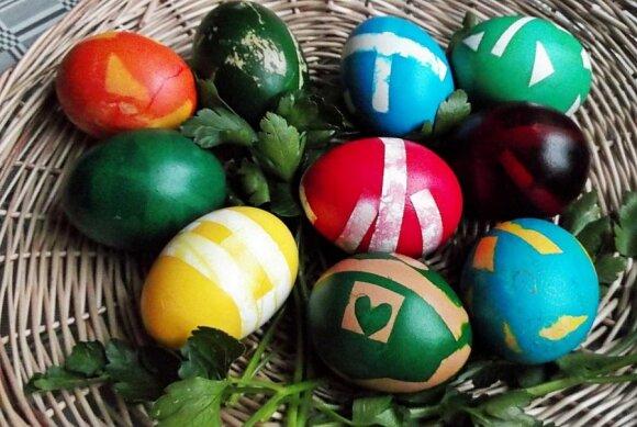 """Dar vienas įdomus būdas marginti kiaušinius <sup style=""""color: #ff0000;"""">(FOTO)</sup>"""