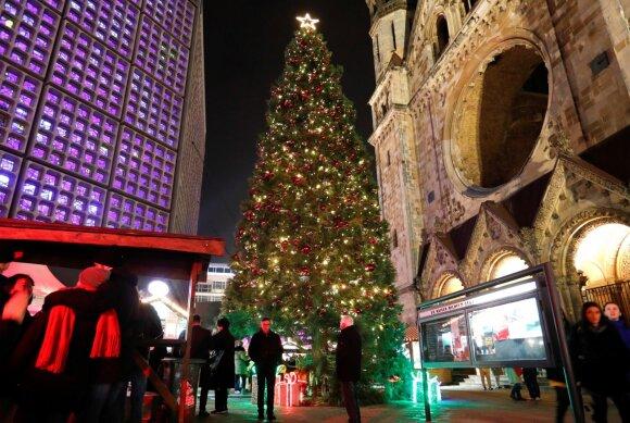 Kalėdų eglė Breitscheidplatz aikštėje, Berlyne